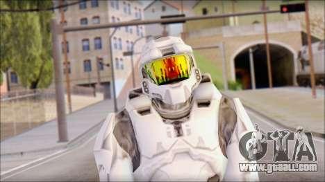 Masterchief White for GTA San Andreas third screenshot