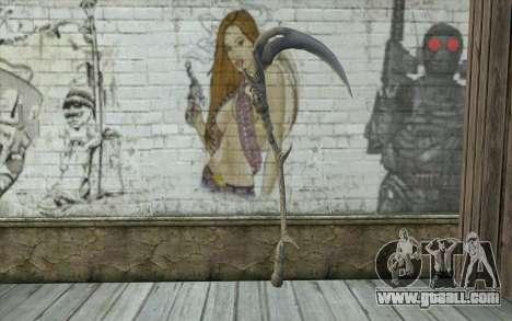Orisis from DmC: Devil May Cry for GTA San Andreas second screenshot