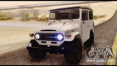 Toyota Land Cruiser (FJ40) 1978 for GTA San Andreas