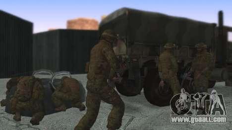 The commander of the ILC USA for GTA San Andreas third screenshot