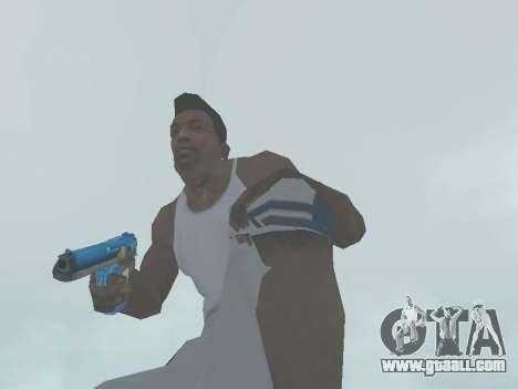 D.Eagle Rainbow Dash for GTA San Andreas forth screenshot