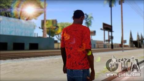 DVS T-Shirt for GTA San Andreas second screenshot