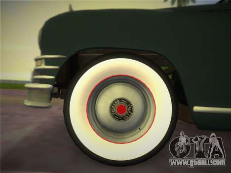 Packard Standard Eight Touring Sedan 1948 for GTA Vice City back left view