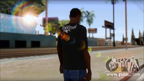 Volcom T-Shirt for GTA San Andreas second screenshot
