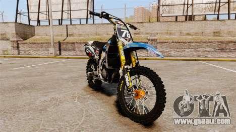 Yamaha YZF-450 v1.14 for GTA 4