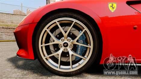 Ferrari 599 GTO PJ4 for GTA 4 back view