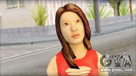 Young Street Girl for GTA San Andreas third screenshot