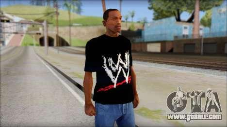 WWE Logo T-Shirt mod v2 for GTA San Andreas