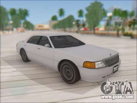 Admiral from GTA 4 for GTA San Andreas back left view