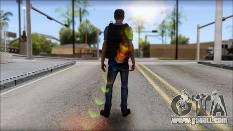 Skin Civil v1 for GTA San Andreas third screenshot