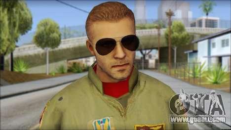 USAF Pilot On Base for GTA San Andreas third screenshot