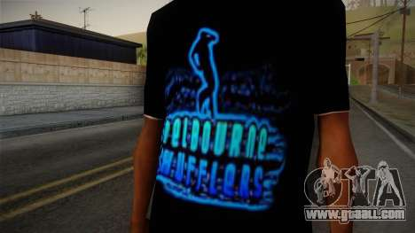 Melbourne Shuffle T-Shirt for GTA San Andreas third screenshot