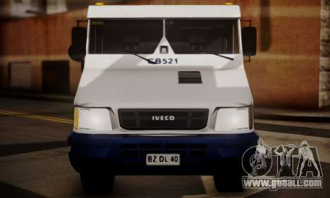 Iveco Daily Brinks for GTA San Andreas right view