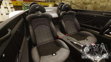 Pagani Zonda C12S Roadster 2001 v1.1 PJ2 for GTA 4 side view