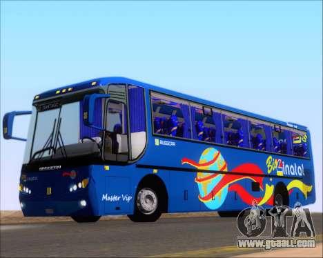 Busscar El Buss 340 Bio Linatal for GTA San Andreas side view