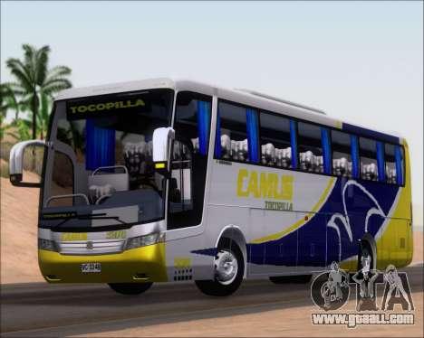 Busscar Vissta Buss LO Mercedes Benz 0-500RS for GTA San Andreas