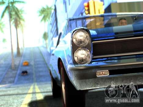 Lime ENB v1.1 for GTA San Andreas seventh screenshot