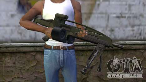 XM8 LMG Olive for GTA San Andreas third screenshot