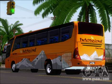 Marcopolo Viaggio 1050 G7 Buses Interregional for GTA San Andreas right view