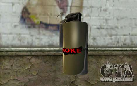 Smoke Grenade for GTA San Andreas