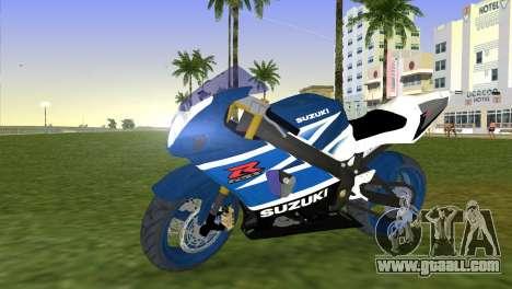 Suzuki GSX-R 1000 for GTA Vice City