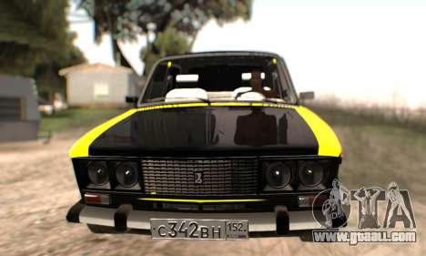 VAZ 2106 for GTA San Andreas wheels