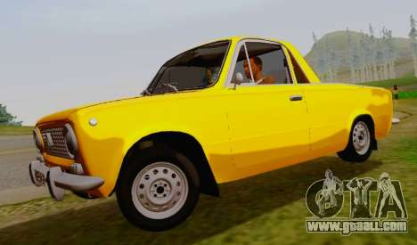 VAZ 2101 Pickup for GTA San Andreas left view