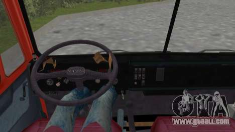KamAZ 5511 for GTA Vice City back left view
