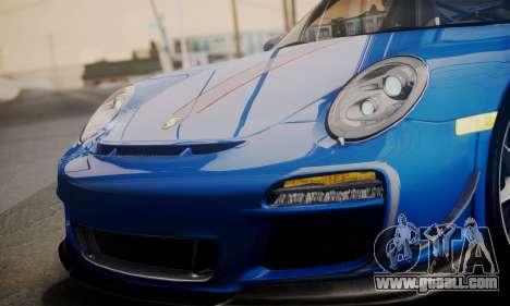 Porsche 911 GT3 RS4.0 2011 for GTA San Andreas wheels