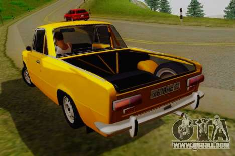 VAZ 2101 Pickup for GTA San Andreas back left view