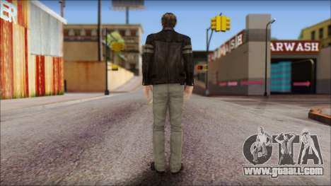 Leon Kennedy from Resident Evil 6 v1 for GTA San Andreas second screenshot