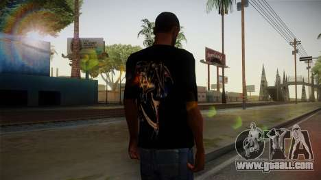 Avenged Sevenfold Reaper Reach T-Shirt for GTA San Andreas second screenshot