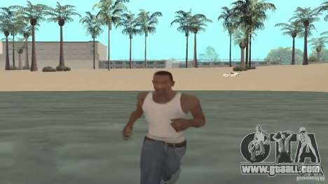Walking on water for GTA San Andreas
