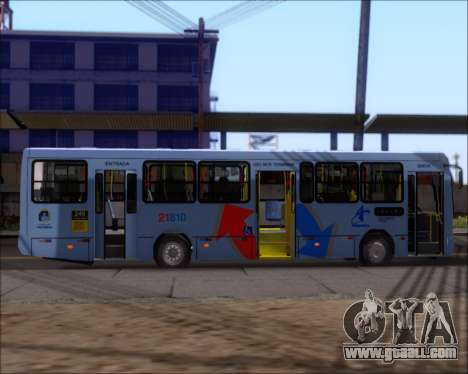 Marcopolo Torino G7 2007 - Volksbus 17-230 EOD for GTA San Andreas back view