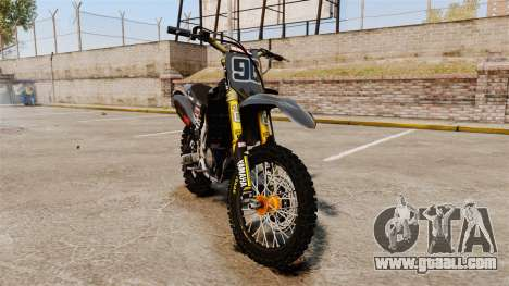 Yamaha YZF-450 v1.2 for GTA 4
