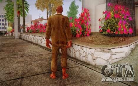 Crimson Zombie Skin for GTA San Andreas second screenshot