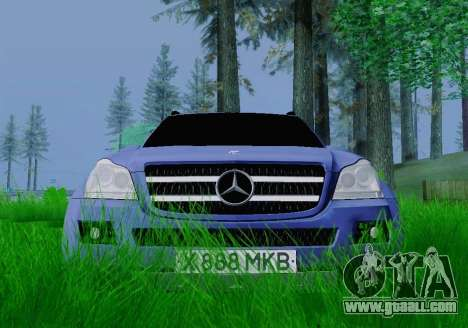Mercedes-Benz GL500 for GTA San Andreas right view