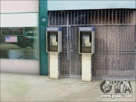 Street phone for GTA San Andreas third screenshot