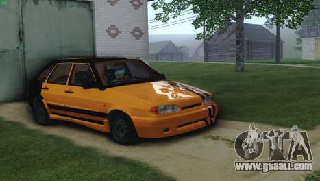 VAZ 2114 Cramps for GTA San Andreas