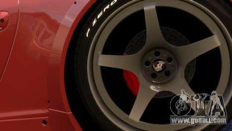 Porsche 911 GT3RSR for GTA 4 back view