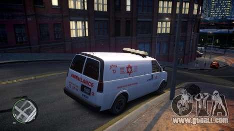 Israel MDA Ambulance for GTA 4