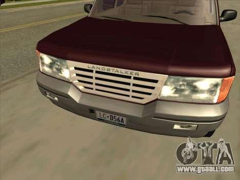 Landstalker from GTA 3 for GTA San Andreas right view