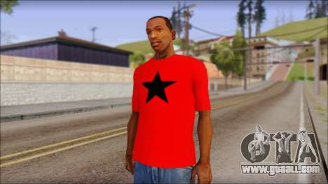 Vidick from Infected Rain Red T-Shirt for GTA San Andreas