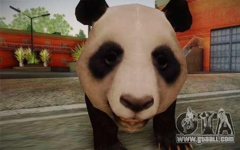 Giant Panda for GTA San Andreas third screenshot