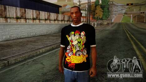 Endank Soekamti T-Shirt for GTA San Andreas