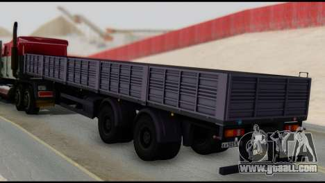Semitrailer MAZ 93866 for GTA San Andreas