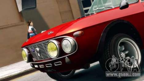 Lancia Fulvia HF for GTA 4 back left view