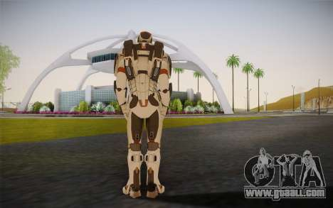 Iron Man Gemini Armor for GTA San Andreas second screenshot