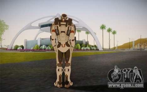 Iron Man Gemini Armor for GTA San Andreas second screenshot