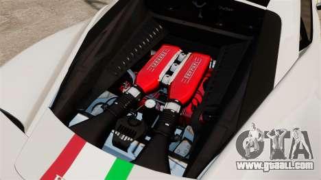Ferrari 458 Italia Speciale Novitec Rosso for GTA 4 inner view